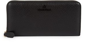 Valentino By Mario Valentino Farley Zip-Around Leather Wallet