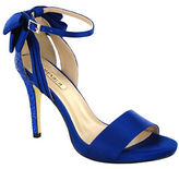Menbur Clarin Back Bow Satin Ankle Strap Sandals