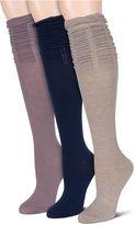 Asstd National Brand 3-pc. Knee High Socks
