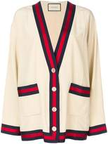 Gucci Web-trimmed cardigan
