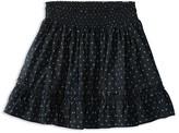 Ralph Lauren Girls' Smocked Floral Print Batiste Skirt - Sizes 2-6X