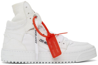 Off-White White Canvas Off-Court 3.0 Sneakers