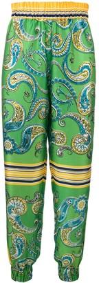 Philosophy di Lorenzo Serafini Paisley Printed Tapered Trousers
