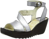 Fly London Womens Yesk Leather Shoes 38 EU