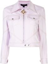 Ellery zipped fitted jacket