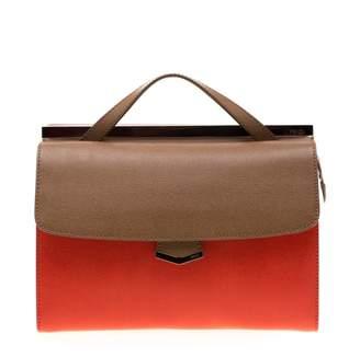 Fendi Orange Leather Handbags