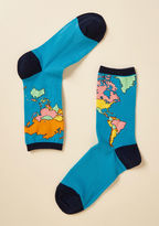 ModCloth For What It's Earth Socks
