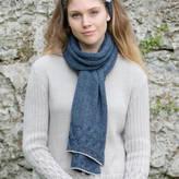 Holmes Samantha Alpaca Cable Knit Long Scarf