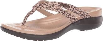 Crocs Capri Strappy Flip Flop | Casual Comfortable Women's Sandal