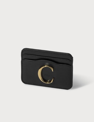 Chloé C Shiny Calfskin Card Holder