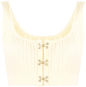 Dion Lee Ribbed Knit Top
