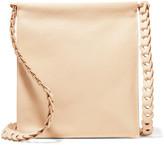 The Row Medicine Textured-leather Shoulder Bag - Ivory