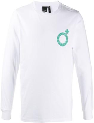 Blood Brother logo print T-shirt
