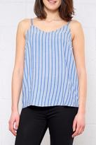 Ichi Striped Chambray Cami