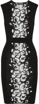Giambattista Valli Jacquard stretch-knit dress
