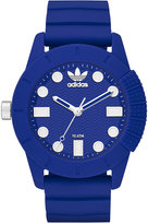 adidas Unisex Originals Blue Silicone Strap Watch 44mm ADH3103