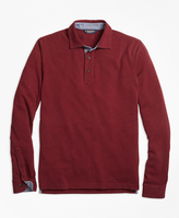Brooks Brothers Vintage Wash Long-Sleeve Polo Shirt