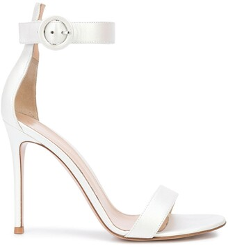 Gianvito Rossi Buckled Open-Toe Sandals