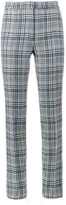 Off-White Tartan High Waisted Trousers
