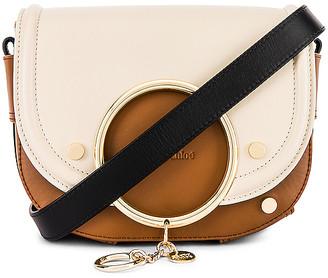 See by Chloe Mara Colorblock Medium Leather Shoulder Bag