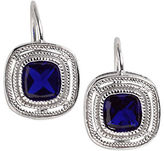Lord & Taylor Bezel-Cut Cubic Zirconia Earrings
