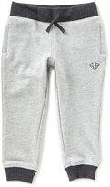 True Religion Little Boys 2T-7 Horseshoe French Terry Sweatpants