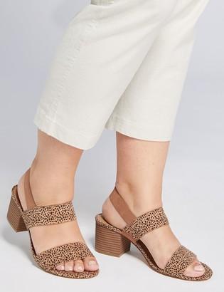 Lane Bryant Double-Strap Block Heel Sandal