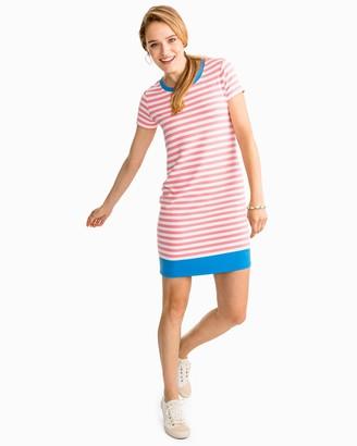 Southern Tide Amelia Striped Performance Dress