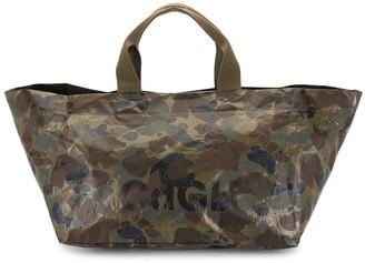 Comme des Garçons Homme Camouflage Tote Bag