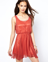 Lovestruck Dress With Trim