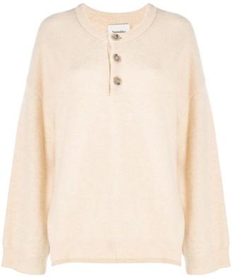 Nanushka Knitted Long Sleeve Top
