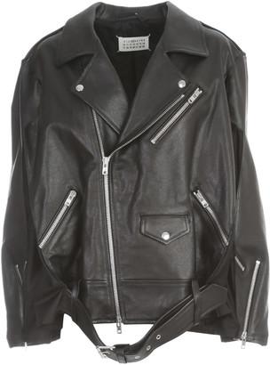 Maison Margiela Shiny Leather Jacket