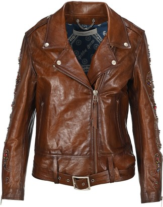 Golden Goose Studded Biker Jacket