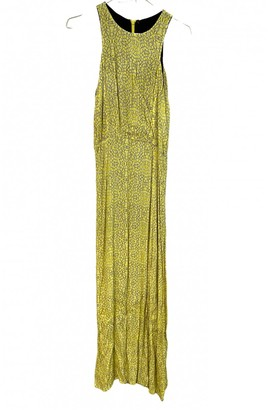 Non Signã© / Unsigned Yellow Synthetic Dresses
