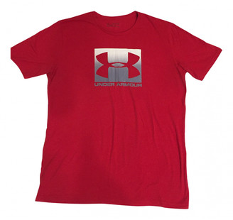 Under Armour Red Cotton T-shirts