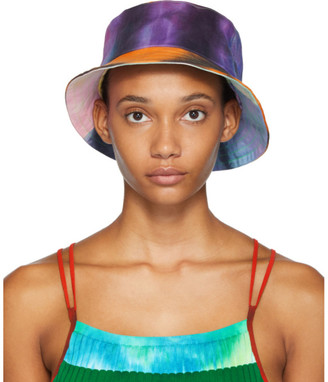 AGR SSENSE Exclusive Multicolor Tie-Dye Bucket Hat