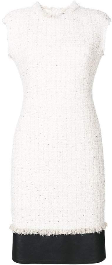 Alexander McQueen Soft Tweed Midi dress