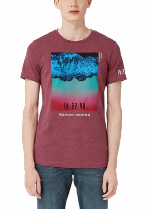 Q/S Designed By   S.Oliver Q/S designed by - s.Oliver Men's 40.909.32.5290 T-Shirt