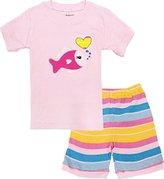 Kidsmall Baby Boys Girls Summer Pajama Set Sleepwear 2T