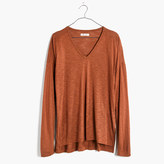 Madewell Anthem Long-Sleeve V-Neck Tee