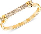Swarovski Friend Pavé Crystal Bar Bangle Bracelet