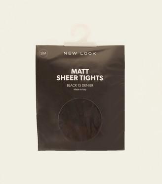 New Look Sheer Matt 15 Denier Tights