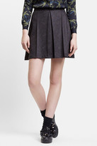 Julien David Wool Jersey Skirt