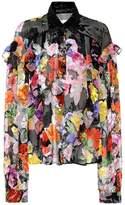 Preen by Thornton Bregazzi Miranda silk-blend blouse