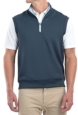 johnnie-O Quarter-Zip Vest