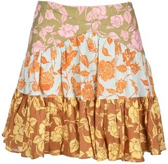 Zimmermann The Lovestruck Flip Mini Skirt