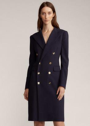 Ralph Lauren Wellesly Wool-Blend Dress