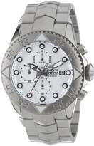 Invicta Men's 13096 Pro Diver Chronograph Textured Dial Stainless Steel Watch