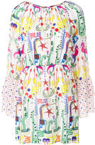 Frankie Morello printed mini dress