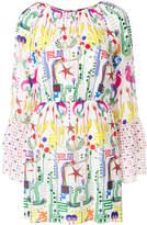 Frankie Morello printed mini dress